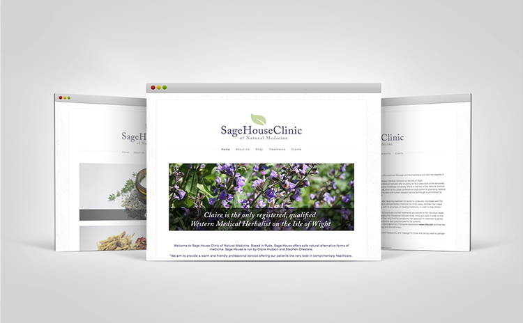 SageHouse Clinic Website