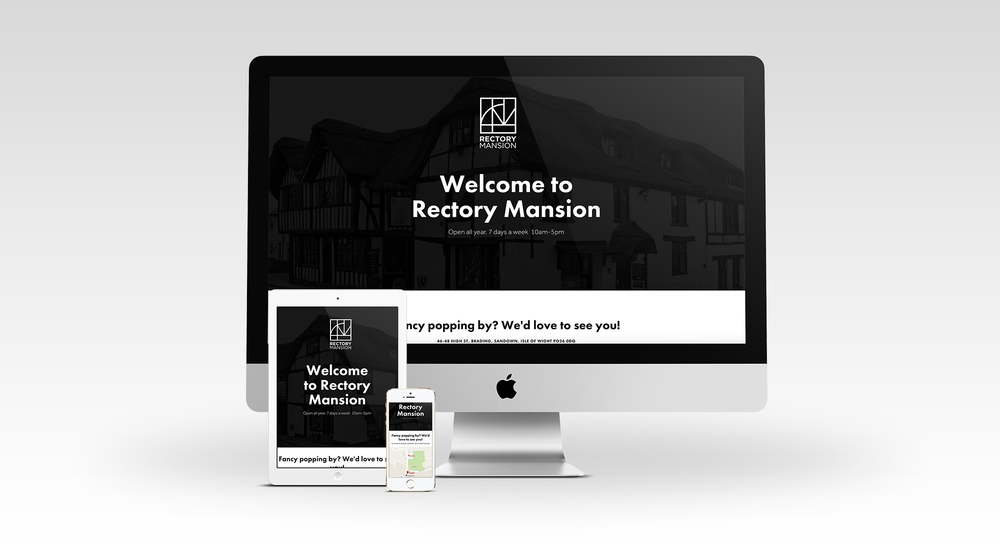 Rectory Mansion website Isle of Wight