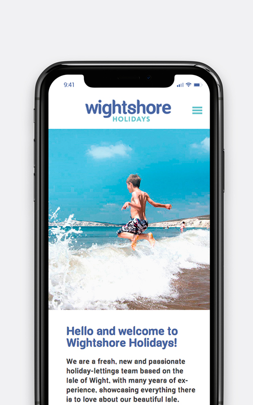 wightshore holidays mobile