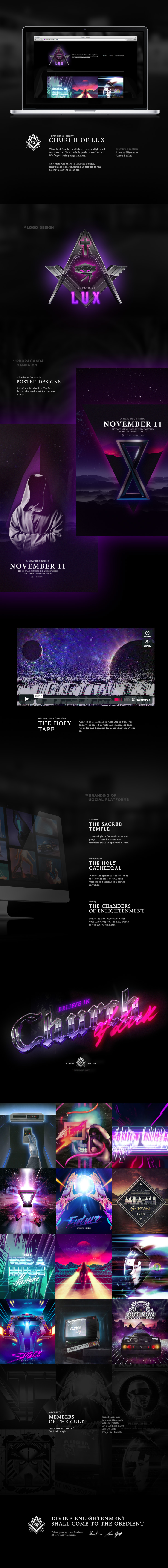 Church of Lux Behance