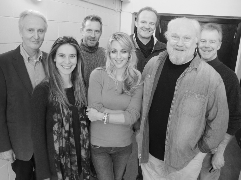 Hugh Fraser, Charlotte Salt, Paul Thornley, Miranda Raison, Alistair Petrie, Colin Baker, Robbie Stevens.