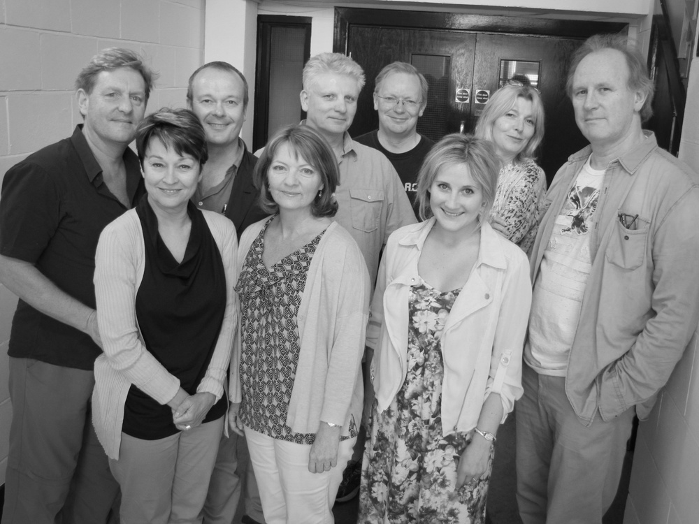 Mark Strickson, Janet Fielding, Paul Panting, Sarah Sutton, Nigel Carrington, Andrew Smith, Emily Woodward, Jemma Redgrave, Peter Davison.