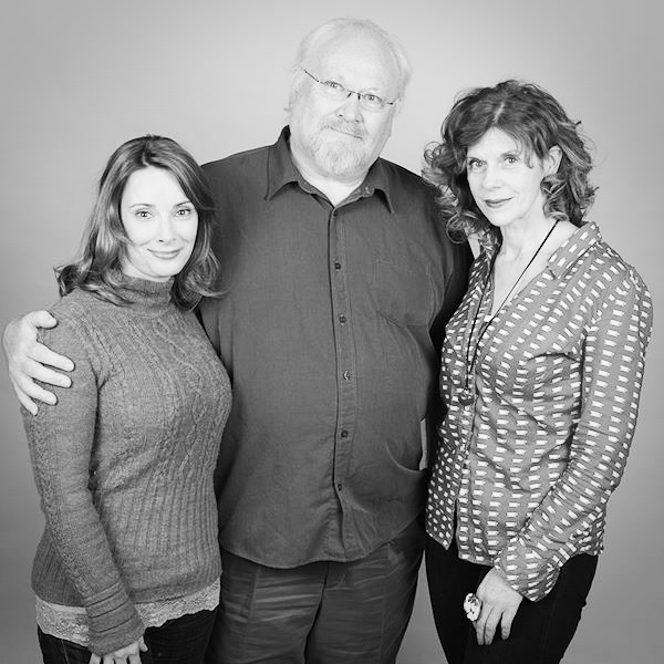 Nicola Bryant, Colin Baker, Siobhan Redmond. Photograph: Tony Whitmore