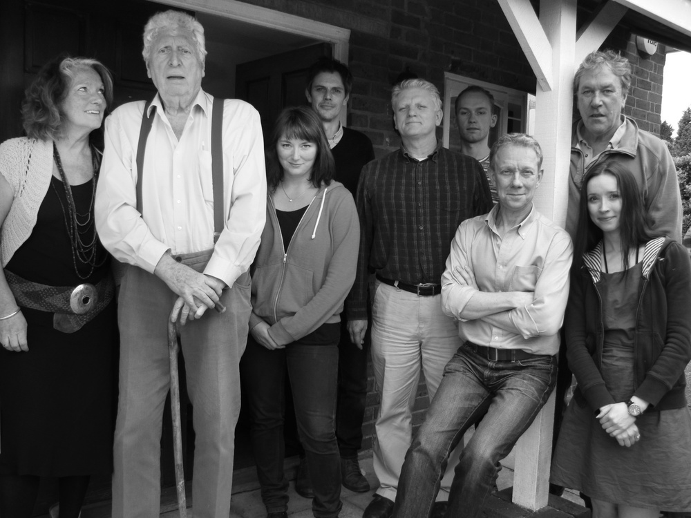 Louise Jameson, Tom Baker, Beth Chalmers, Ben Porter, Nigel Carrington, Joe Jameson, Jamie Newall, Tim Bentinck, Alix Dunmore.