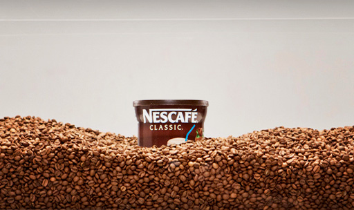 Nescafé Cover Photo Display