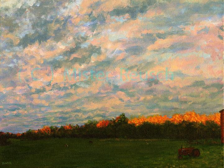 """""""Sunset Treetops"""""""