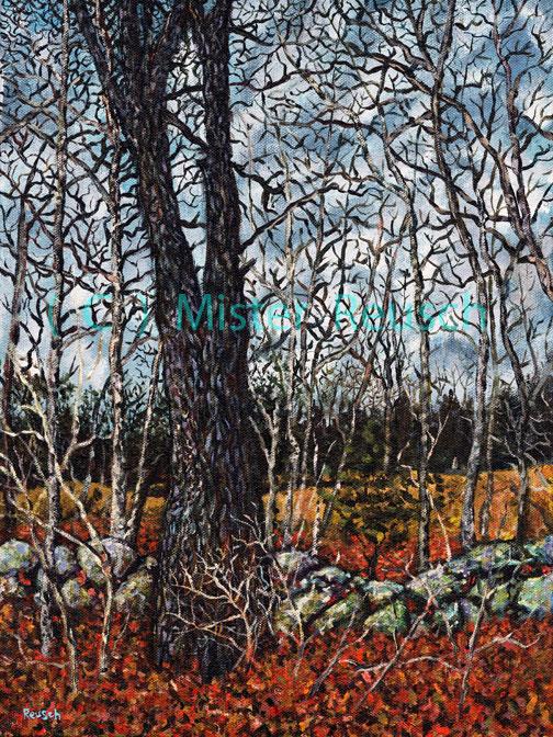 """Late-Autumn Woods"""