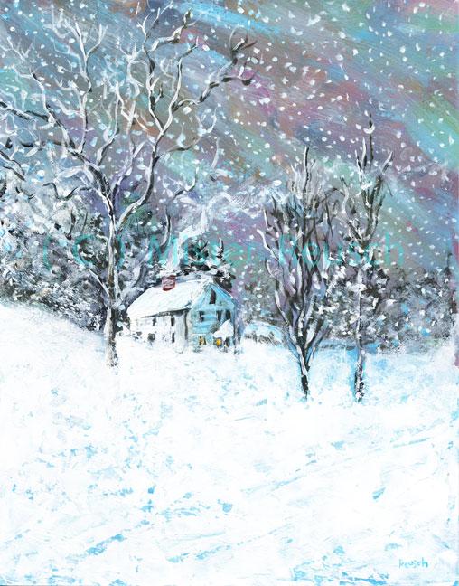 """Snow-bound"""