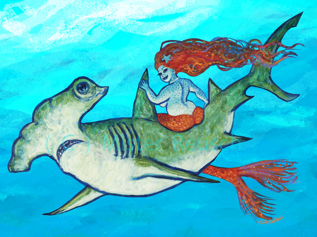"""Hammerhead & Mermaid"""