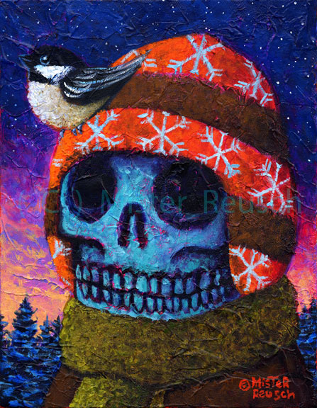 """Wintertime Chickadee"""