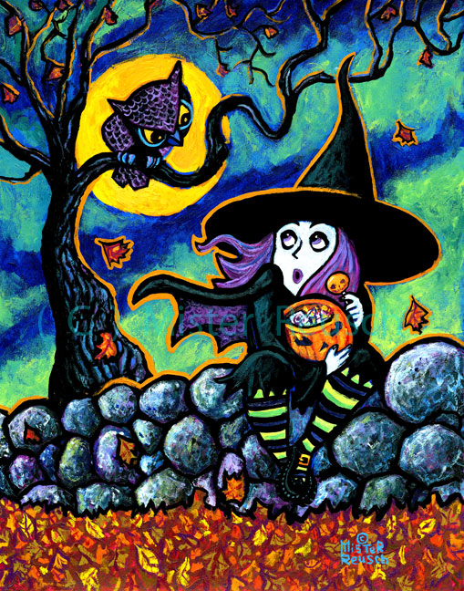 """Owl & Witch"""