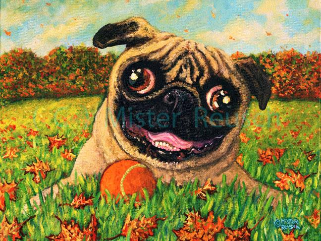"""""""Autumn Pug"""""""