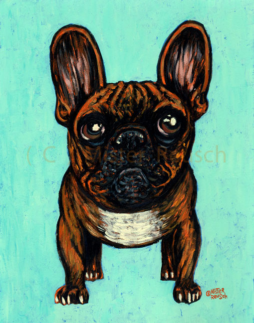 """Brindle Frenchie"""