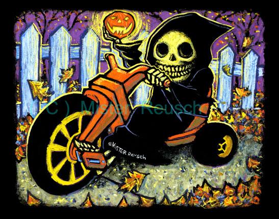 """""""Rollin' Reaper:  Big Wheel"""""""