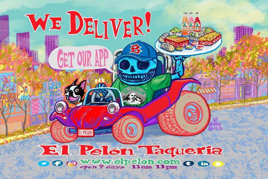El Pelon Taqueria Delivery Ad