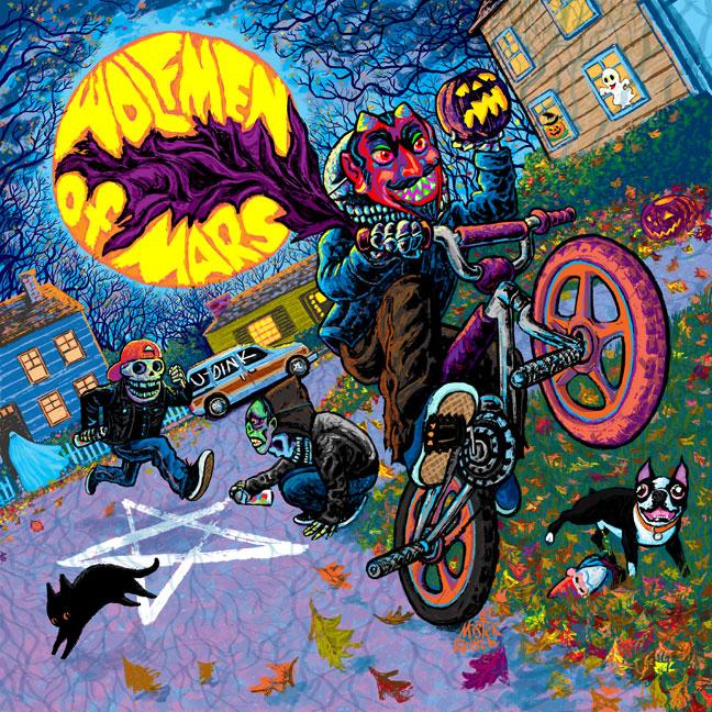 Wolfmen of Mars album cover
