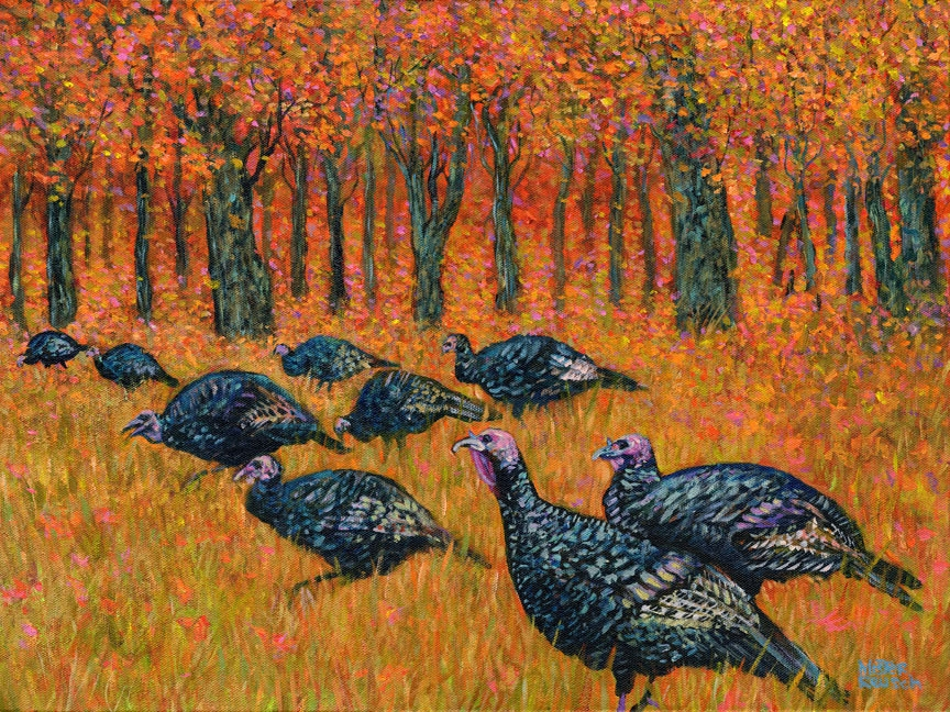 """Wild Turkeys"""