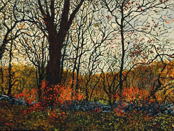 November Trees