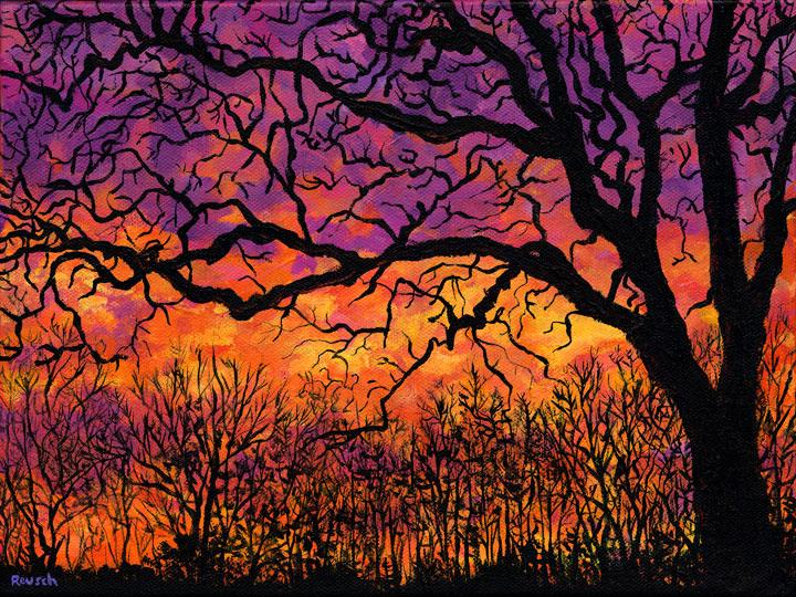 Late Autumn Sunset