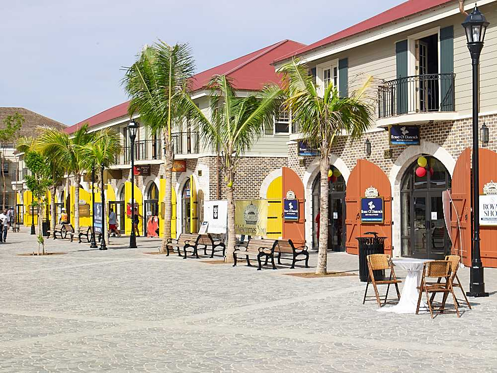 Merchants Walk at Port of Falmouth, Jamaica