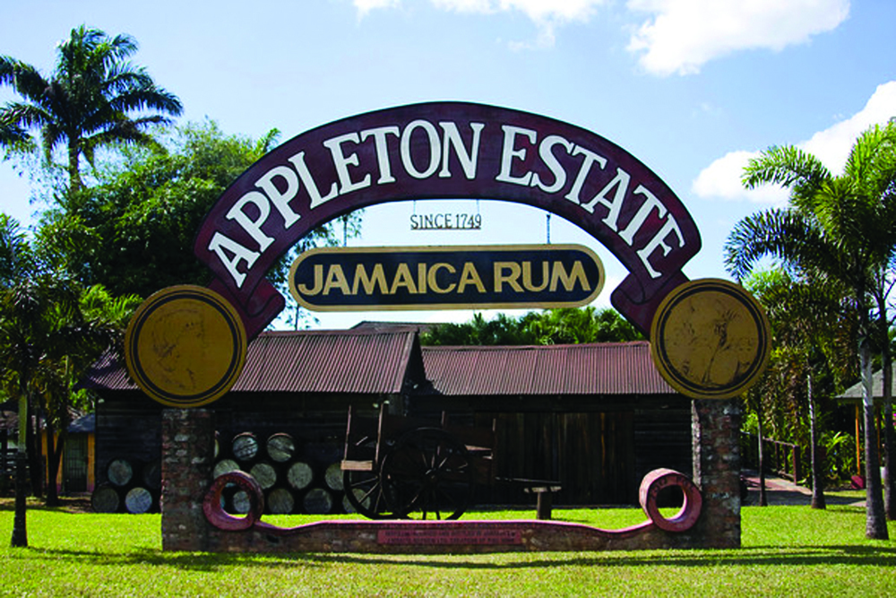 Entrance to the Appleton Estate Rum Tour