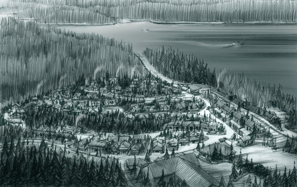 Settlement Town Rendering