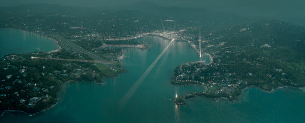 Port Castries Aerial Rendering