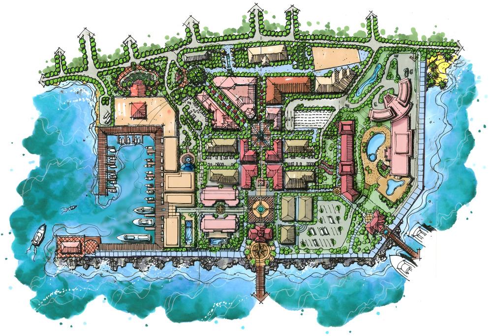 Port Zante, Basseterre, St. Kitts — IDEA