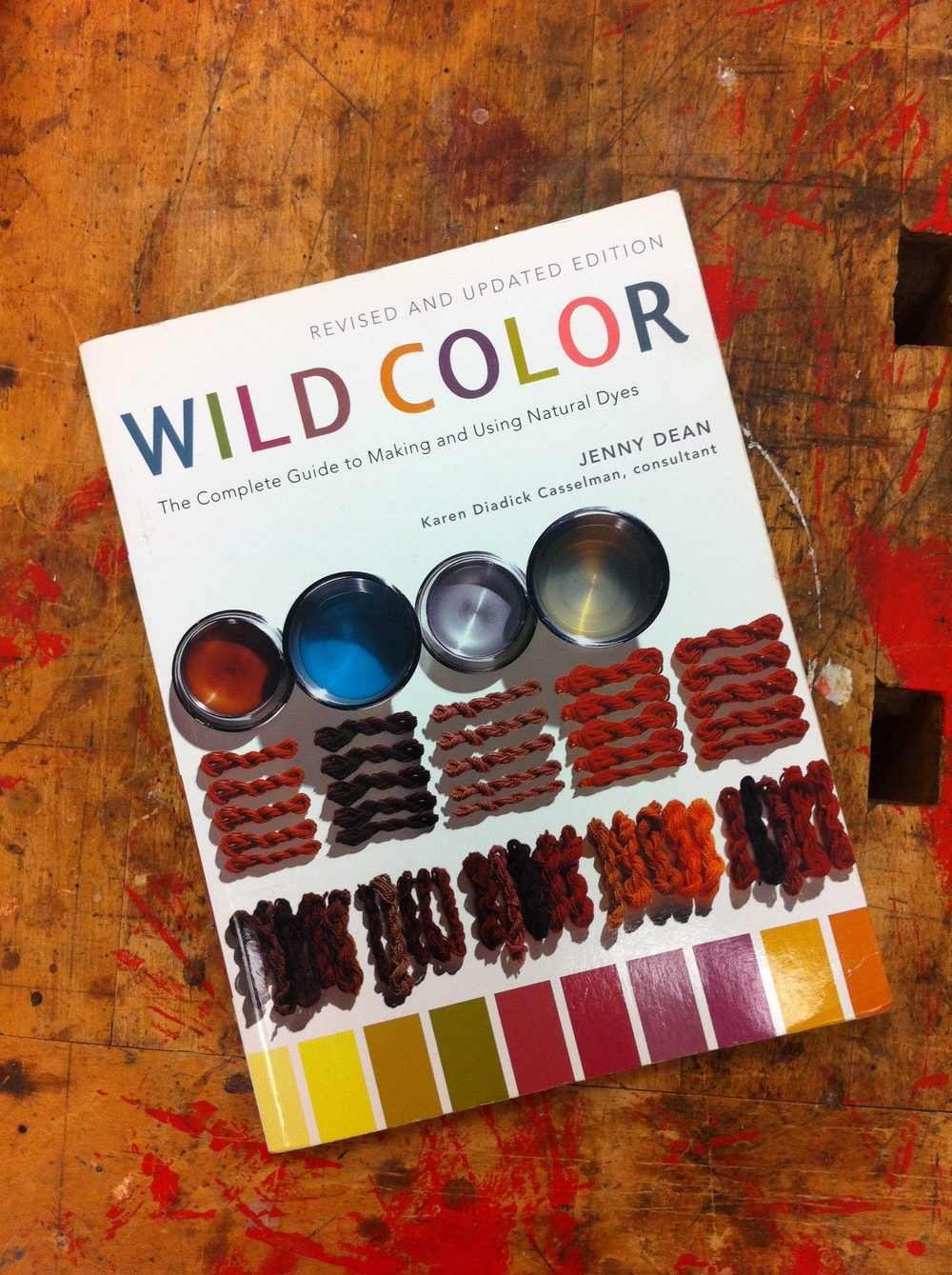 Wild Color is a great resource to use for anyone looking to learn more about natural dyes