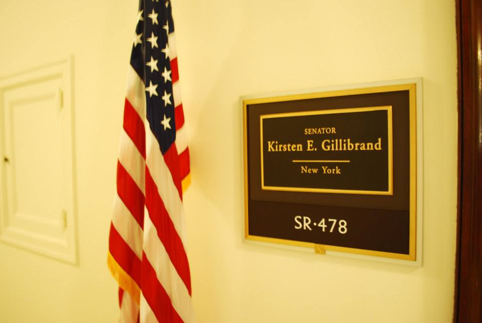 Preparing for our meeting with Kirsten Gillibrand!