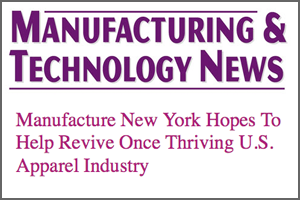 Manufacturing & Technology News