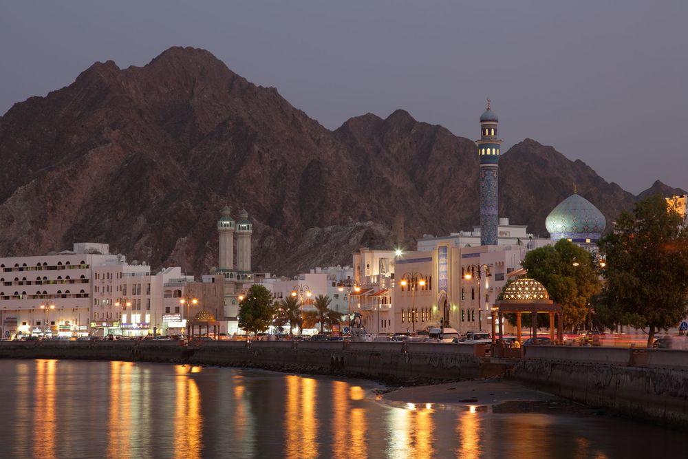 Cornichen i Muskat etter solnedgangsbønnen (maghrib)