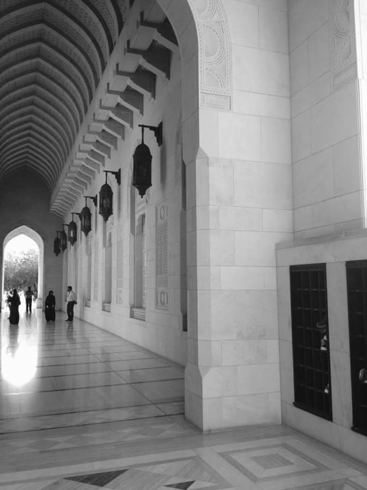Sultan Qaboos - Stormoskén en tidlig morgen. Foto:Kjersti S. Macdonald Aursnes