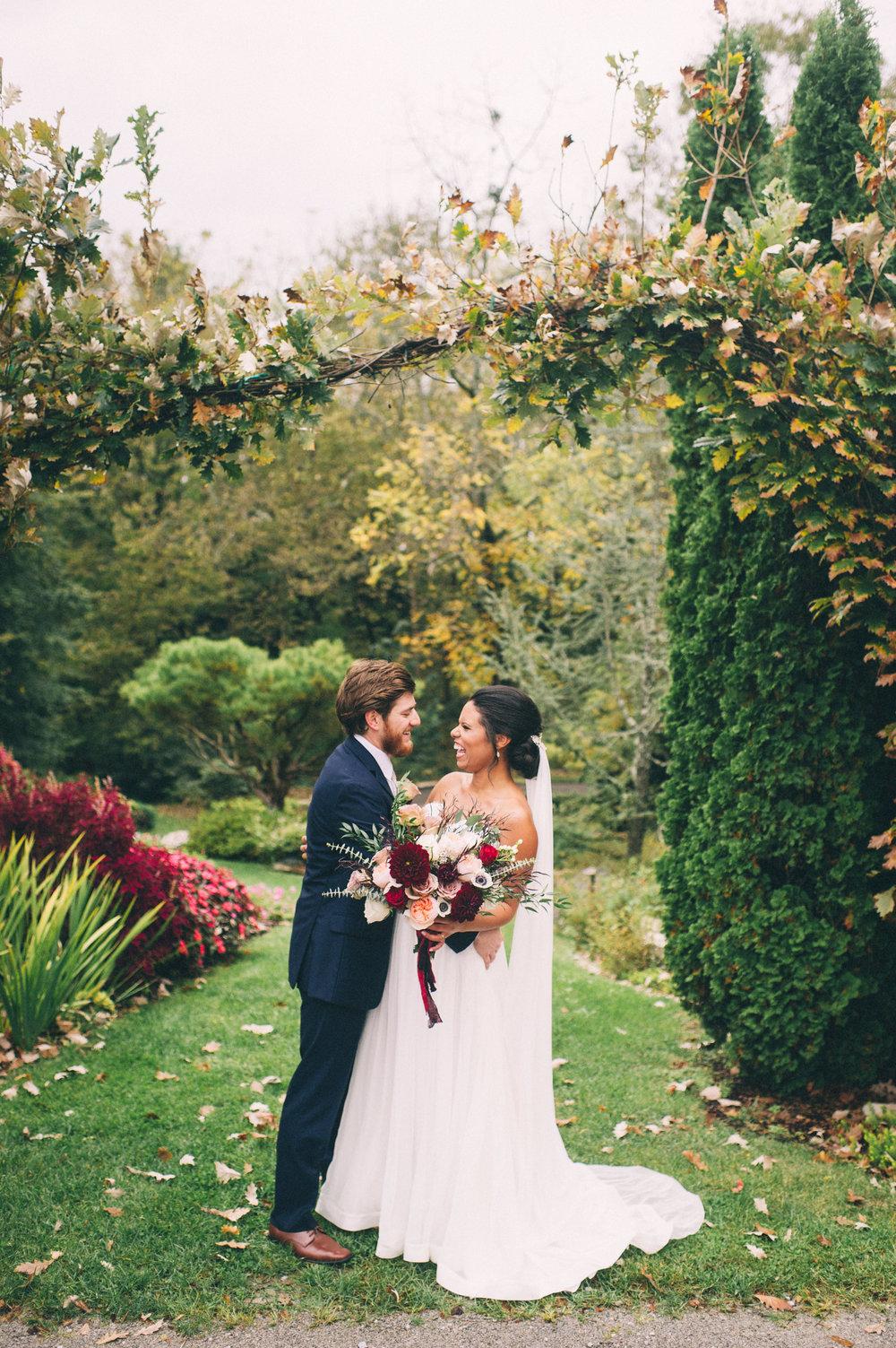 Micaha & Austin // Cozy Autumn Wedding at Springhouse Gardens // Lexington, Kentucky // Wedding Photography // Couple's Portraits