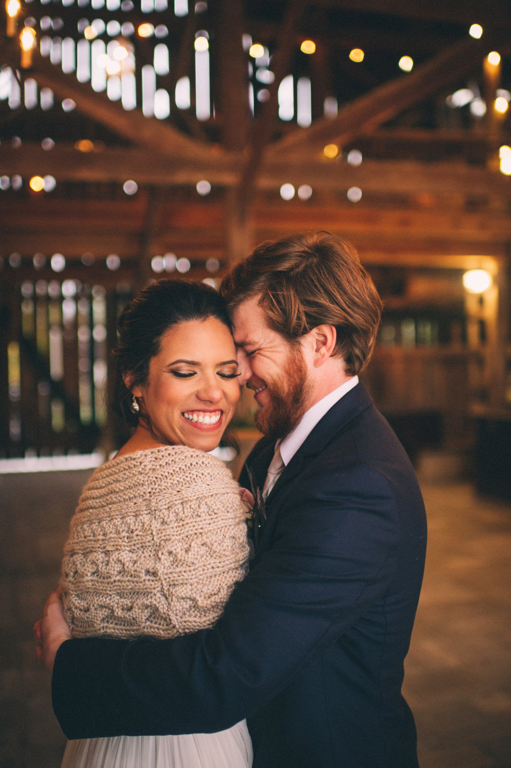 Micaha & Austin // Cozy Autumn Wedding at Springhouse Gardens // Lexington, Kentucky // Wedding Photography // Couple Portrait
