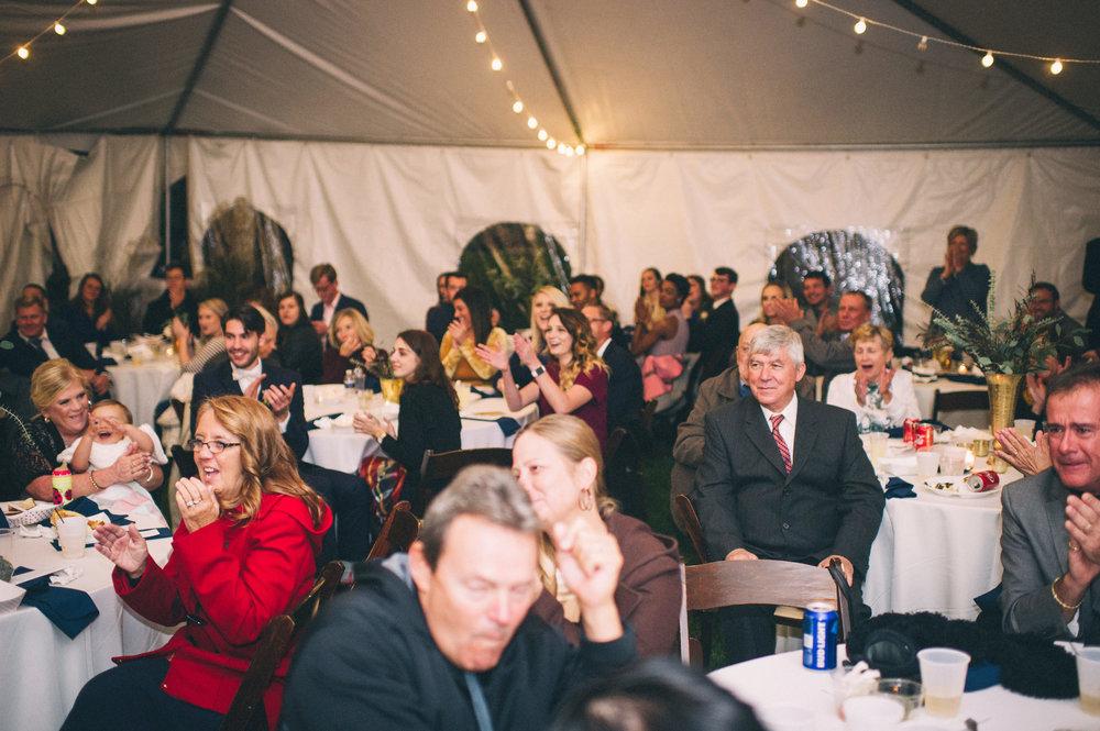 Micaha & Austin // Cozy Autumn Wedding at Springhouse Gardens // Lexington, Kentucky // Wedding Photography // Reception // Dances