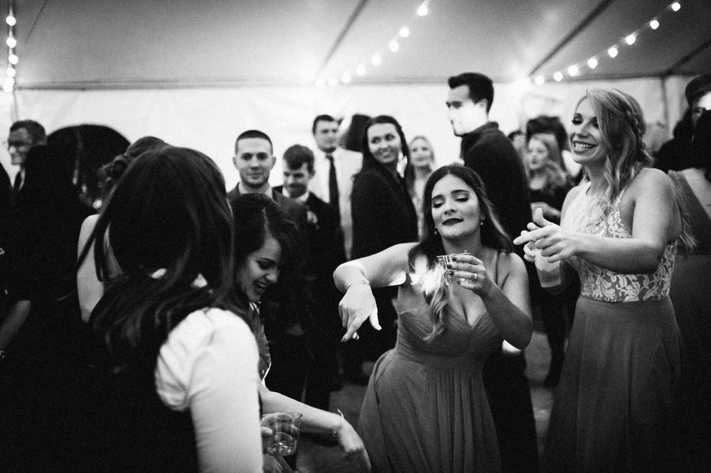 Micaha & Austin // Cozy Autumn Wedding at Springhouse Gardens // Lexington, Kentucky // Wedding Photography // Reception // Dancing