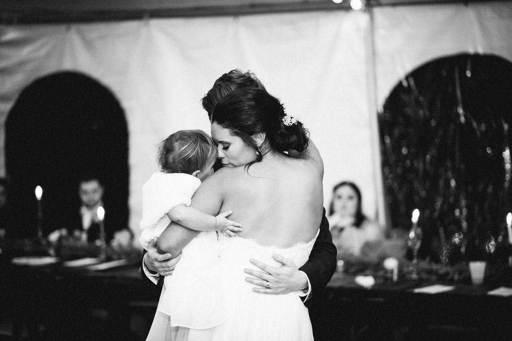 Micaha & Austin // Cozy Autumn Wedding at Springhouse Gardens // Lexington, Kentucky // Wedding Photography // Reception // Dance with Daughter