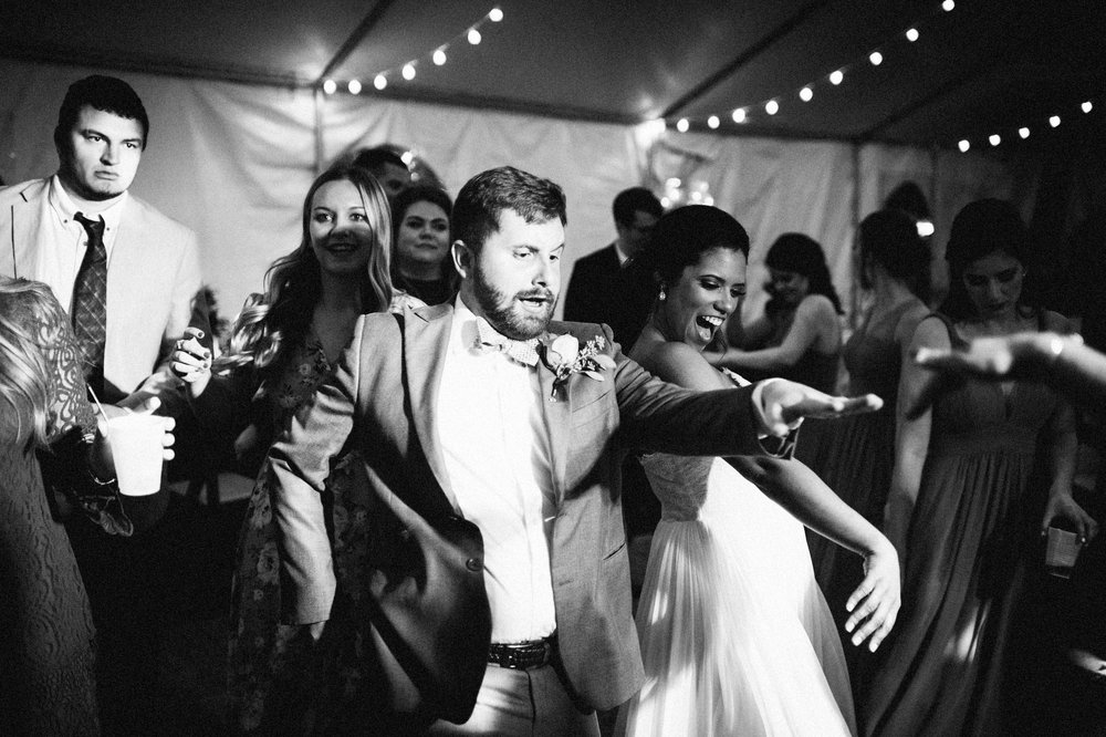 Micaha & Austin // Cozy Autumn Wedding at Springhouse Gardens // Lexington, Kentucky // Wedding Photography // Reception // Dancing