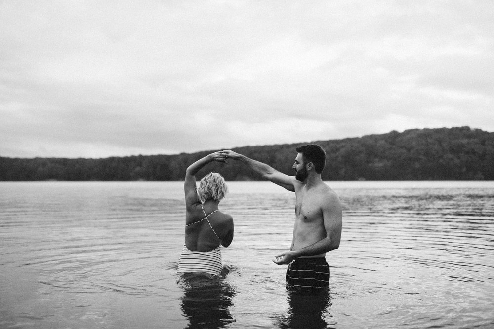 Sarah-Katherine-Davis-Photography-Louisville-Kentucky-Wedding-Elopement-Photographer-Just-Because-Session-Stormy-Blue-Hour-Swimming-In-Lake-Couple-Session-Abby-Schyler-77bw.jpg