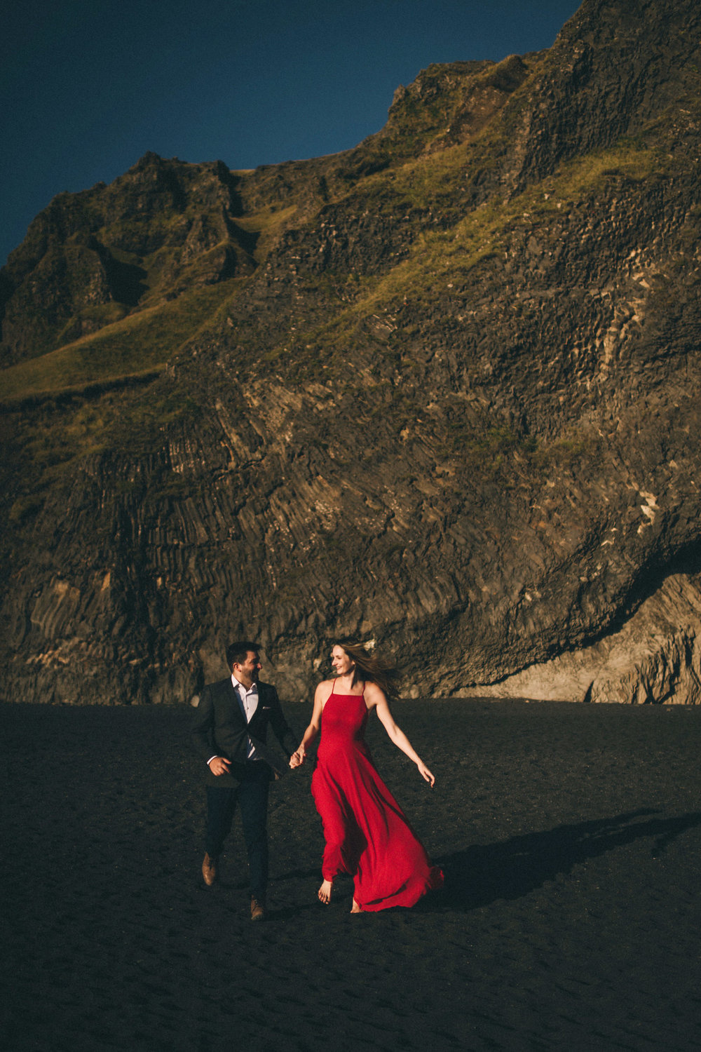 Sarah-Katherine-Davis-Photography-Iceland-Adventure-Elopement-Photographer-Louisville-Kentucky-Wedding-Photographer-Travel-Vik-Beach-Engagement-Session-Red-Dress-Reynisfjara-207edit.jpg