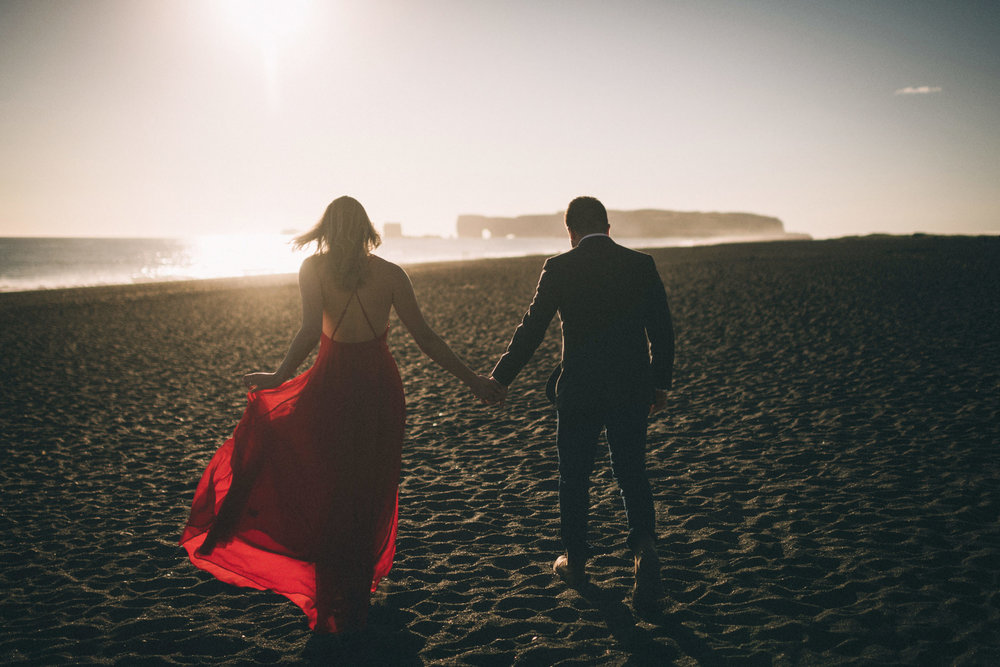 Sarah-Katherine-Davis-Photography-Iceland-Adventure-Elopement-Photographer-Louisville-Kentucky-Wedding-Photographer-Travel-Vik-Beach-Engagement-Session-Red-Dress-Reynisfjara-208edit.jpg