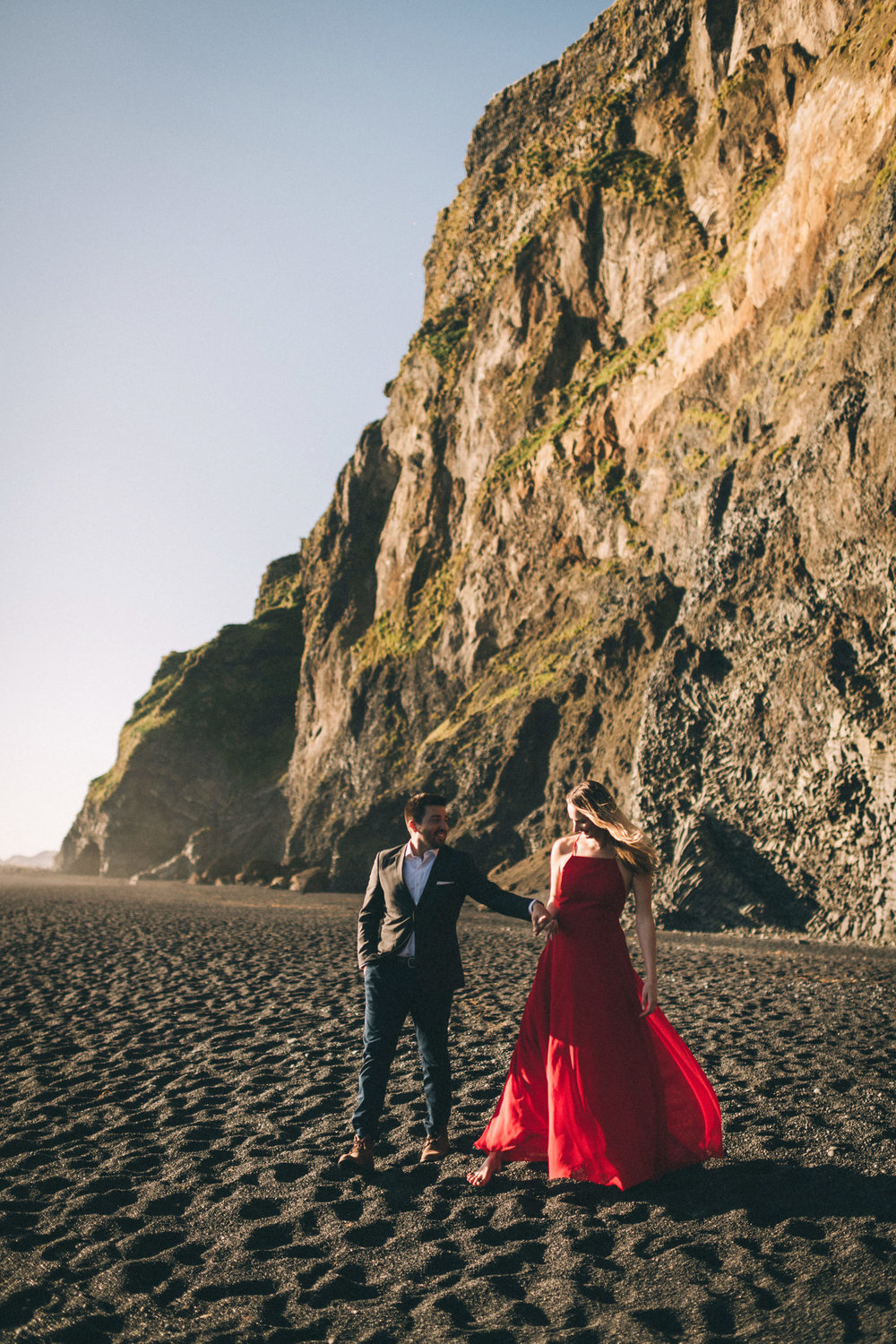 Sarah-Katherine-Davis-Photography-Iceland-Adventure-Elopement-Photographer-Louisville-Kentucky-Wedding-Photographer-Travel-Vik-Beach-Engagement-Session-Red-Dress-Reynisfjara-140edit.jpg