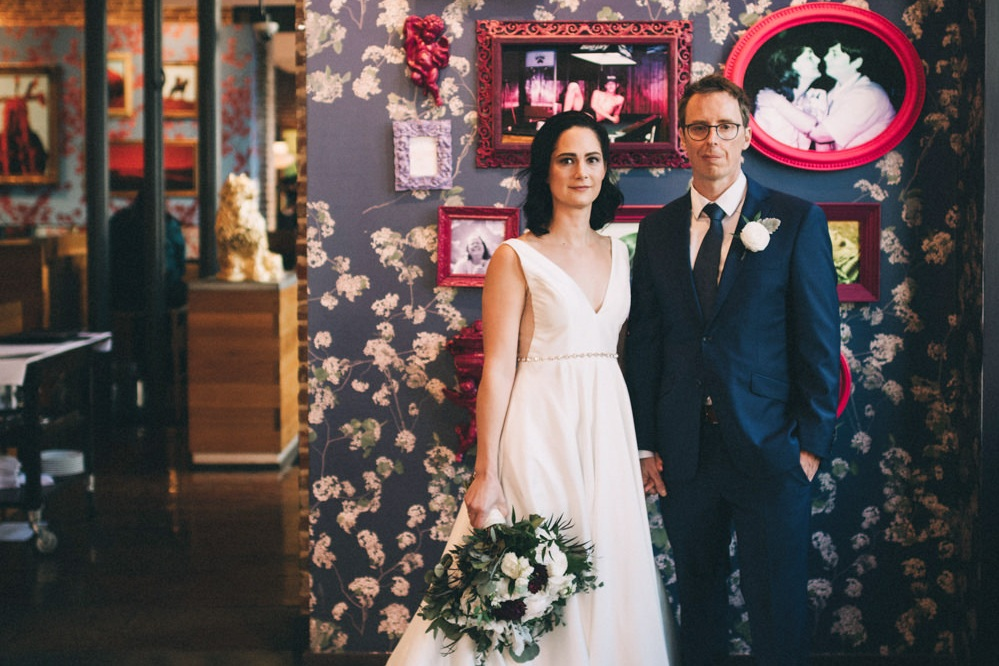 Jessica & Arnaud - Intimate & Modern Nuptials at 21c2018