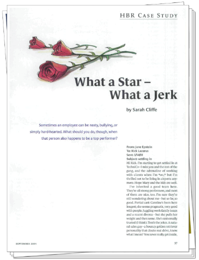 """What a Star - What a Jerk""  by Sarah Cliffe"
