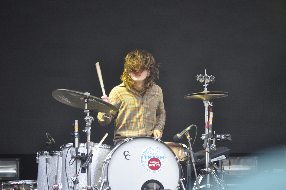 The Front Bottoms' drummer Matthew Uychich