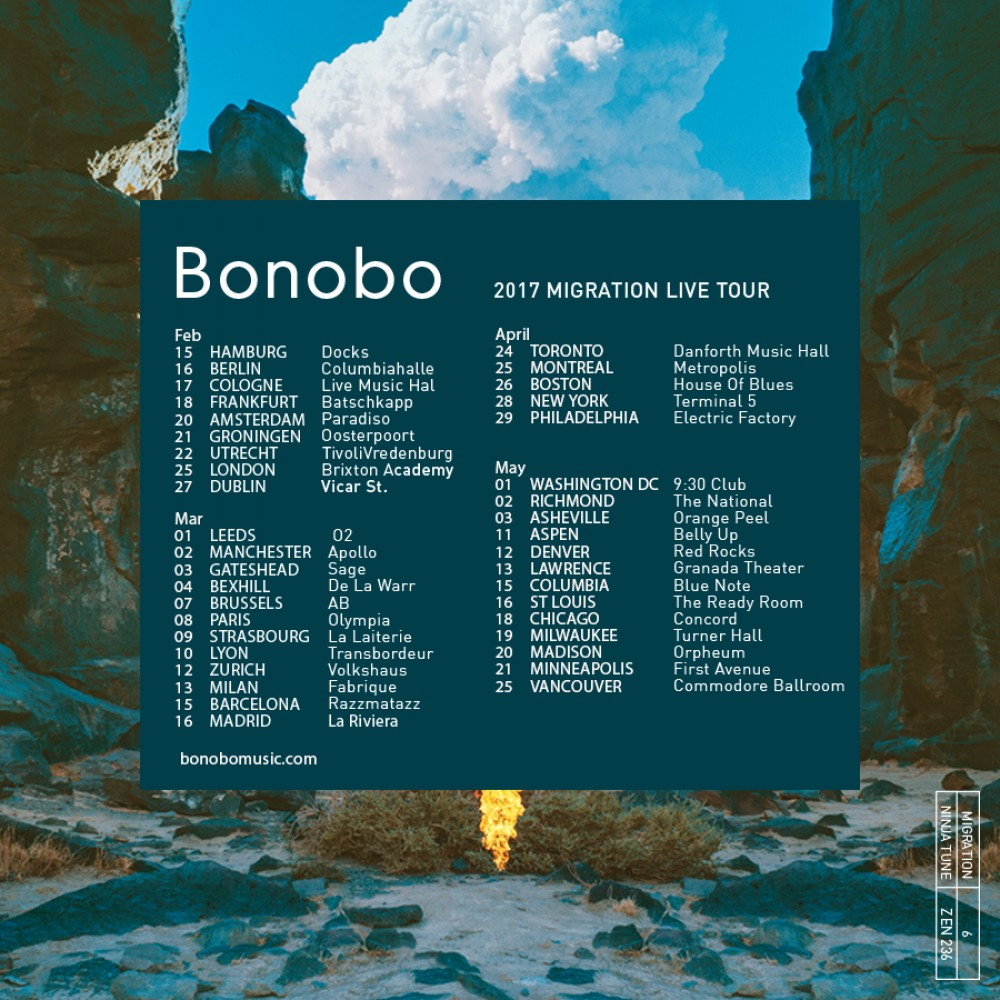 Bonobo Migration Tour Dates