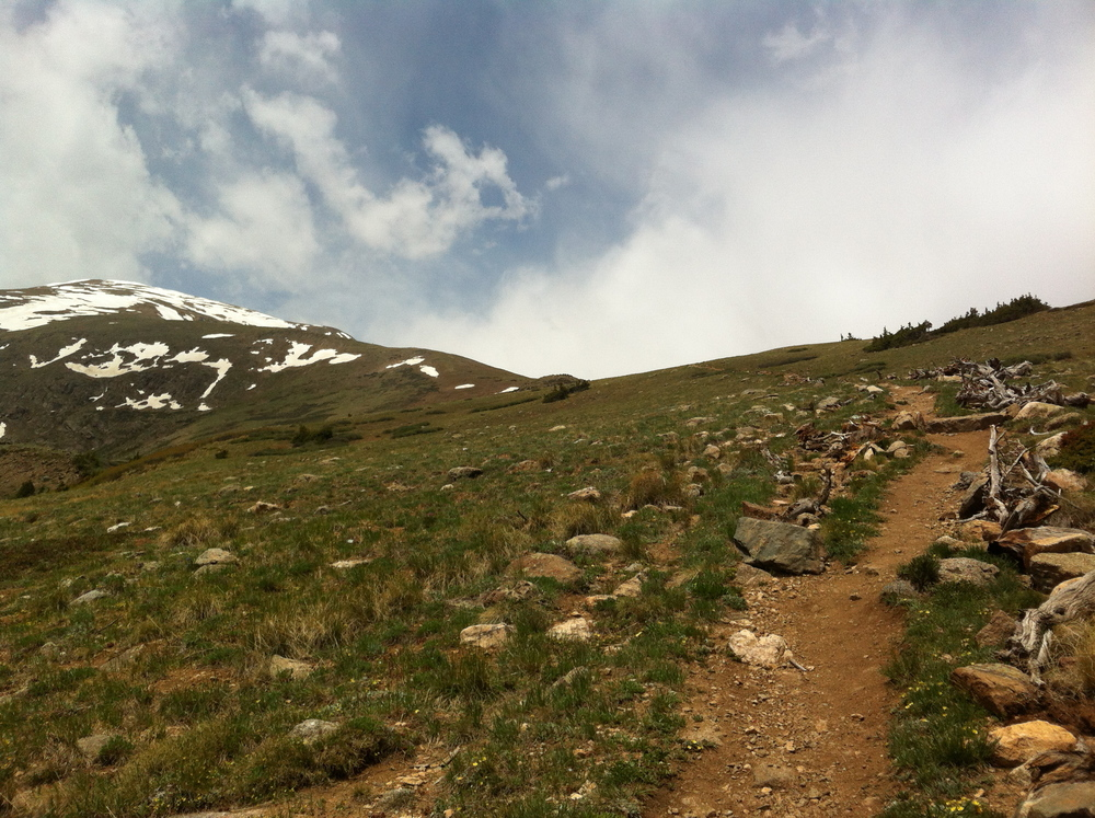 recent run to the roof of Colorado.  Mt. Elbert 14,433ft