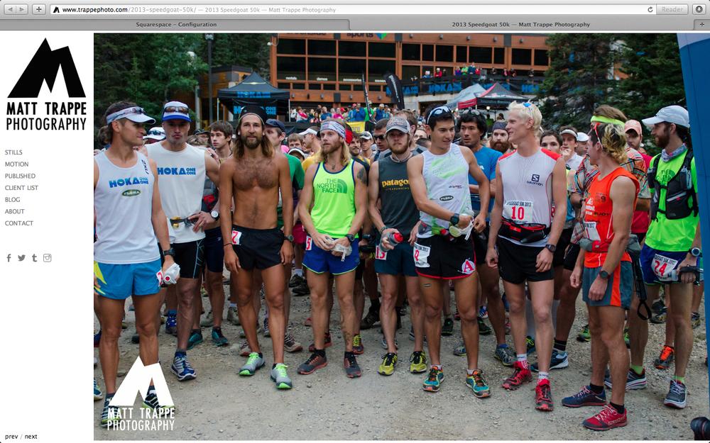 race start captured by Matt Trappe