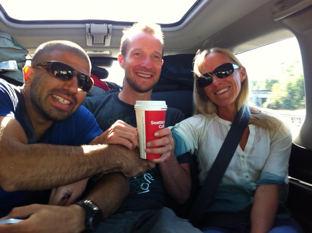 Human seatbelt for Matt